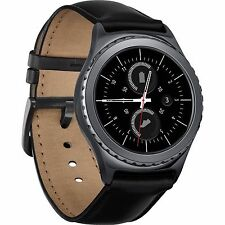 SAMSUNG GALAXY GEAR S2 CLASSIC BLACK SM-R735A SMARTWATCH 44mm UNLOCKED GSM, WIFI