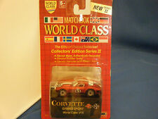 "Matchbox World Class Edition Series II Corvette Grand Sport #16 1989 ""BRAND NEW"""