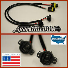 2X 5202 H16 9009 Wire Harness HID Ballast Stock Socket for HID Conversion Kit GM