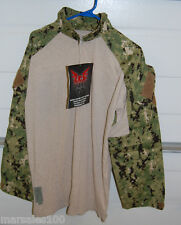 new Military Crye Precision Combat Shirt Custom w/ DRIFIRE - AOR LARGE Reg