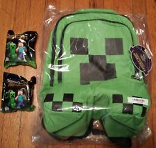 Minecraft Creeper Backpack, Plus 2 surprise hangers!!