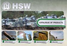 HSW CATALOGUE OF PRODUCTS 2012 INCL 6x6 8x8 JELCZ MILITARY BROCHURE PROSPEKT