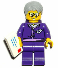 LEGO NINJAGO POSTMAN MINIFIGURE AUTHENTIC NEW Purple Suit Mailman 70751
