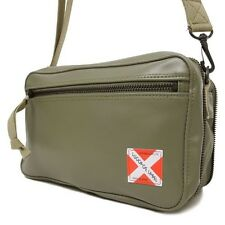 New YOSHIDA LUGGAGE LABEL LINER SHOULDER BAG 951-09242 Khaki Green From JP
