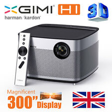 "Xgimi h1 Smart Home Theater 4k 300"" 3d SMART PROIETTORE LiveTV. h1 nativo Direct"