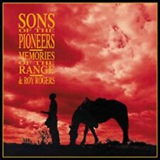 Memories of the Range [Box] Sons of the Pioneers CD, 1999, 4 Discs, Bear Family