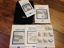 FORD MONDEO OWNERS HANDBOOK MANUAL & WALLET SET* 1996-2001 * MARK 2