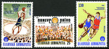 Greece 1591-1593, MNH. 25th European Basketball Championships, 1987