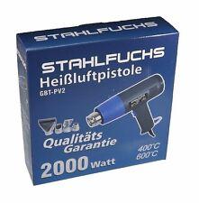 Heißluftgebläse Heißluftfön Heißluftpistole Pistole Fön 2 Stufen 2000 Watt *21