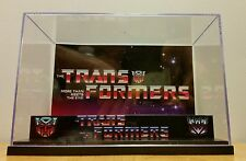 Transformers Display Diorama Case for action figures-case only