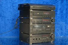 ►TECHNICS X101◄HI-FI AMPLI LETTORE CD TAPE DECK RADIO GIRADISCHI VINTAGE MINI