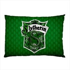 NEW Harry Potter Slytherin Hogwarts School PILLOW CASE One Side FREE Shipping
