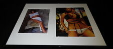 Tiffani Amber Thiessen Signed Framed 16x20 Bikini Photo Set Saved by the Bell