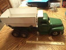 Vintage BUDDY L Dump Truck, Pressed Steel Toy Vehicle 1953 FORD RARE WORKS