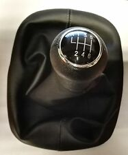 VW PASSAT B5 96-00 GEAR SHIFT KNOB 6 SPEED WITH GAITER BOOT NEW