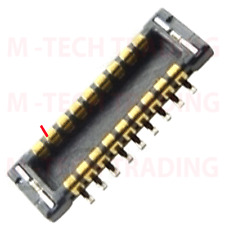 NEW 2 X FOR IPHONE 4 AUDIO FPC PLUG CONNECTOR PART FOR LOGIC BOARD