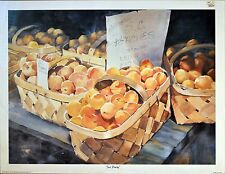 Just Peachy by Jane Jackson Limited Edition signed and numbered print.