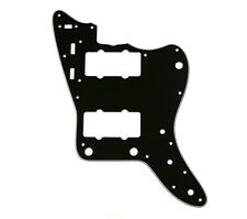 3-ply Black Pickguard for Japan Reissue MIJ Fender Jazzmaster® PG-0582-IMPB