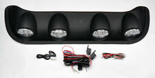 "LED Rally Racing Off Road Roof Top Fog Light Bar + Switch 4"" Lights"