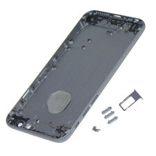 Metal Replace gray Battery Door Housing Back Cover Case For Iphone 6 plus
