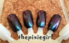 Blue Purple Green Color Shift Multichrome Spectraflair Holographic Nail Polish