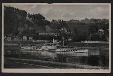 alte AK Weiße Flotte Dresden Sächsische Schweiz Rathen Rosengarten Erbgericht BB