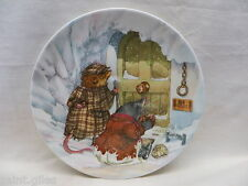 """WEDGWOOD """"8 PLATE  (ERIC KINCAID) WIND IN THE WILLOWS """"THE WILD WOOD"""""""