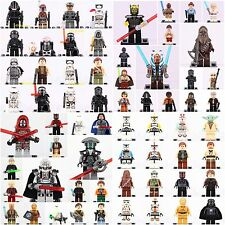 64 pcs Star Wars collectable all character Super heroes minifigures Custom Lego