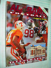 Alabama vs. Tulane Football Illustrated  September 4, 1993 program