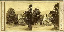L. FIZANNE Photo vue stéréo Ecosse Scotland Près d'Aberdeen vue stéréo photo 188