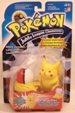 "Pokemon ""Johto League Champions""  4"" Attack Launchers Pikachu by Hasbro (MOC)"