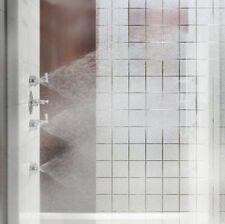 "70ft x 4ft (840"" x 48"") frosted glass squares decal VVIVID home office privacy"