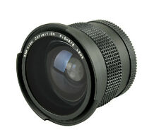 0.35x Fisheye Wide Angle 58mm Lens for Canon 5D III 7D II 5D II 7D 70D 650D 450D