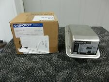 ASHCROFT G-SERIES SNAP ACTION SWITCH PRESSURE CONTROL 0-60 PSI SS GPSN4GS06 NEW