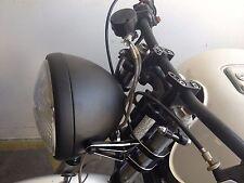 "8"" Headlight Black Halogen MotorCycle KZ650 kz1000 kz750 kz550 Kawasaki Complete"