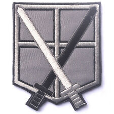 Attack On Titan Shingeki No Kyojin Training Corps USA 3D MORALE BADGE HOOK PATCH