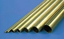 "BT5 PACK OF 3 PIECES OF BRASS TUBE 3/16"" x 12"""