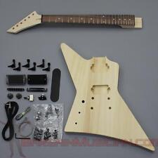 Bargain Musician - GK-016L - LEFT Hand DIY Unfinished Project Luthier Guitar Kit