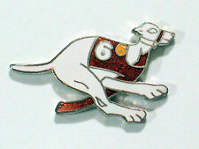 Greyhound #6 Dog Racing Pin