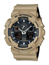 Casio g-shock reloj ga-100l-8aer analogico, digital beige