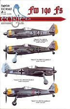 EagleCals Decals 1/32 FOCKE WULF Fw-190F German WWII Fighter