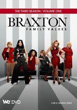 BRAXTON FAMILY VALUES - SEASON 3 Volume 1  -  DVD - REGION 1 - Sealed