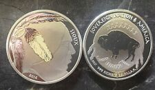 1 Dollar Native American Mint Sioux Indian - reverse proof - 1 Unze Silber 999