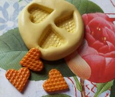 Mini WAFFLES Flexible Silicone Mold-for polymer clay, wax, candy, fondant, resin