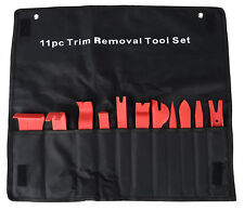 11pcs Auto Car Door Panel Clip Trim Remover Removal Pry Tool Kit with Bag