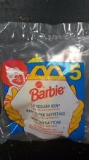 1994 MCDONALDS BARBIE HAPPY MEAL LIFEGUARD KEN #7 NEW SEALED
