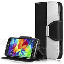 NERO Flip Case Cover per Samsung Galaxy S5 w / Card Slot