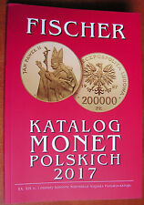 FISCHER 2017 - NEW - Catalogue of Polish Coins - FISCHER 2017 - real photo