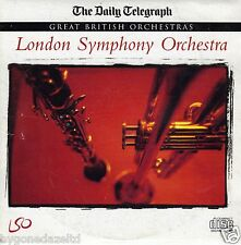 GREAT BRITISH ORCHESTRAS -  LONDON SYMPHONY ORCHESTRA - LSO - PROMO CD