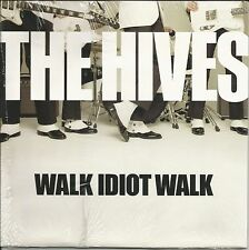 THE HIVES Walk Idiot w/ UNRELEASE Trk WHITE 7 INCH Vinyl SEALED LIMITED 2004